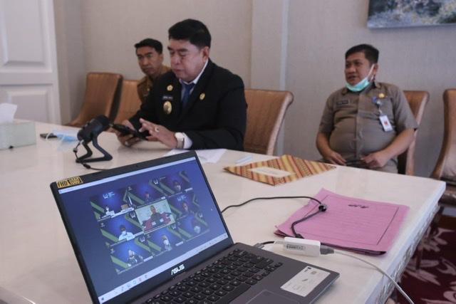 Sekdaprov Sulsel, Abdul Hayat Paparkan Layanan Publik Kekinian Sulsel di Komisi Informasi Pusat