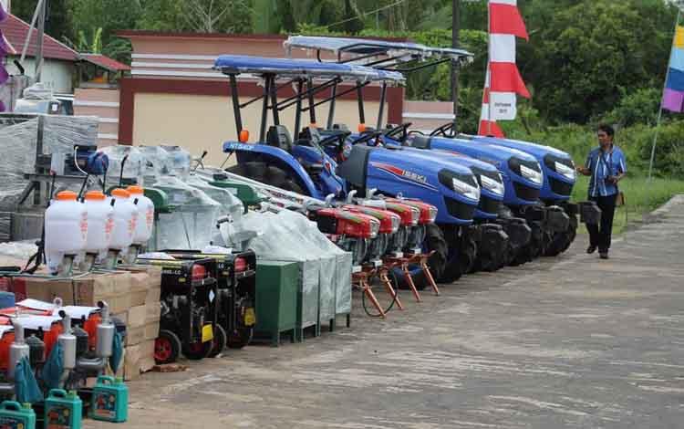 34.356 Unit Alsintan Disiapkan untuk Mendukung Pertanian Tahun 2021