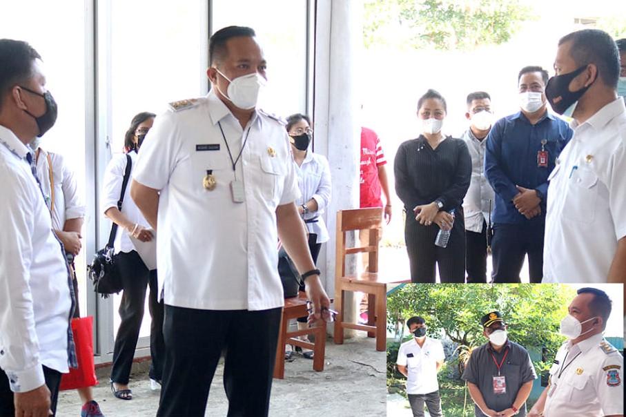 Wawali Manado, Sualang Tinjau Langsung Seleksi Kepala Lingkungan