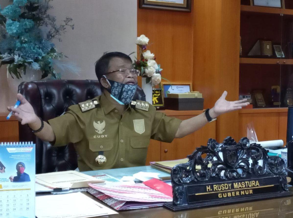 Gubernur Sulteng, Rusdy Mastura, Minta Bupati/Walikota Dampingi Warga Untuk Memperoleh KUR