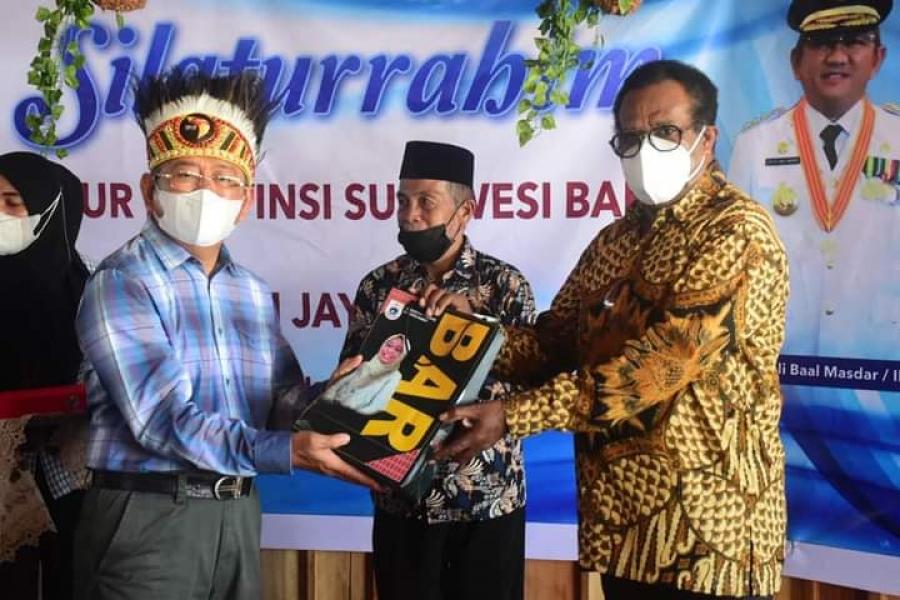 Gubernur Sulbar : Warga Mandar Di Papua Harus Terus Berkarya