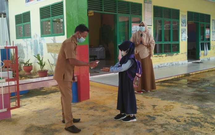 Uji Coba PTM di Sekolah PAUD/TK Sinjai, Murid Terapkan Protokol Kesehatan Secara Baik