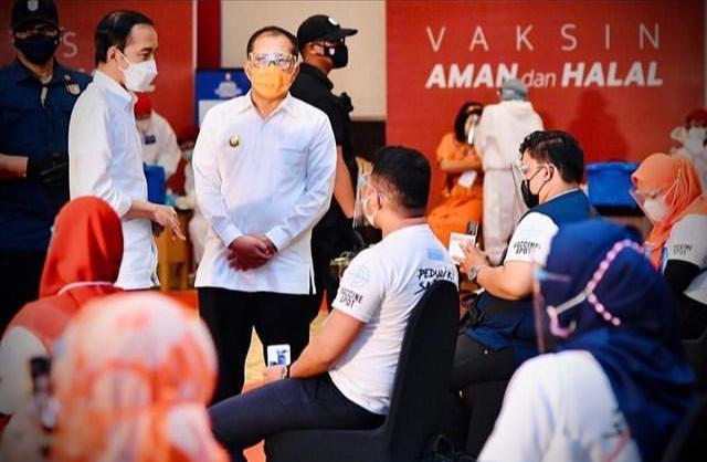 Pemkot Makassar Target 70 Persen dari Populasi Masyarakat untuk Lakukan Vaksin Serentak di 100 RT