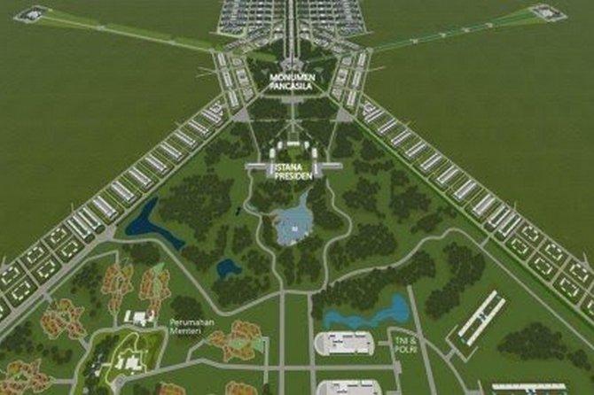 Anggaran Pembangunan Ibu Kota Negara Baru Tahap Pertama Rp 510 Miliar