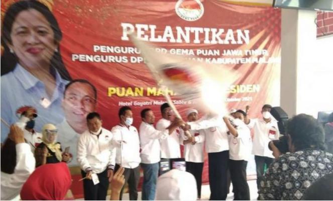 Relawan Gema Puan Dideklarasikan di Malang Jatim