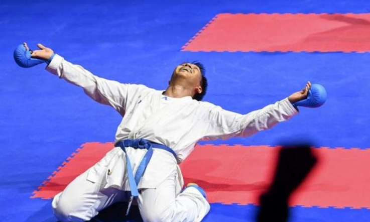 Sulsel Sukses Kawinkan Emas Cabang Karate, Kata Beregu PON XX Papua