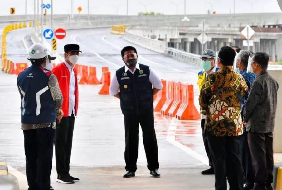 Presiden: Bakauheni ke Palembang Kini Hanya 3,5 Jam Perjalanan