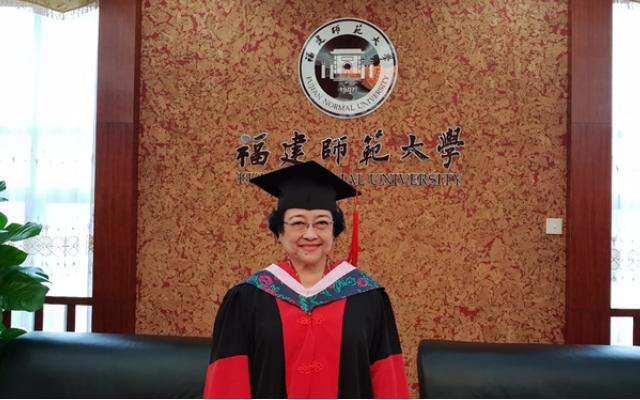Megawati Soekarnoputri Mendapat Gelar Profesor Kehormatan dari Unhan RI