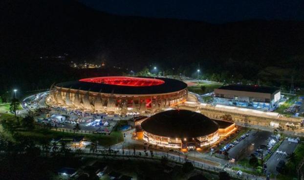 Melihat Kemegahan Stadion Lukas Enembe Tempat Pembukaan PON XX 2021