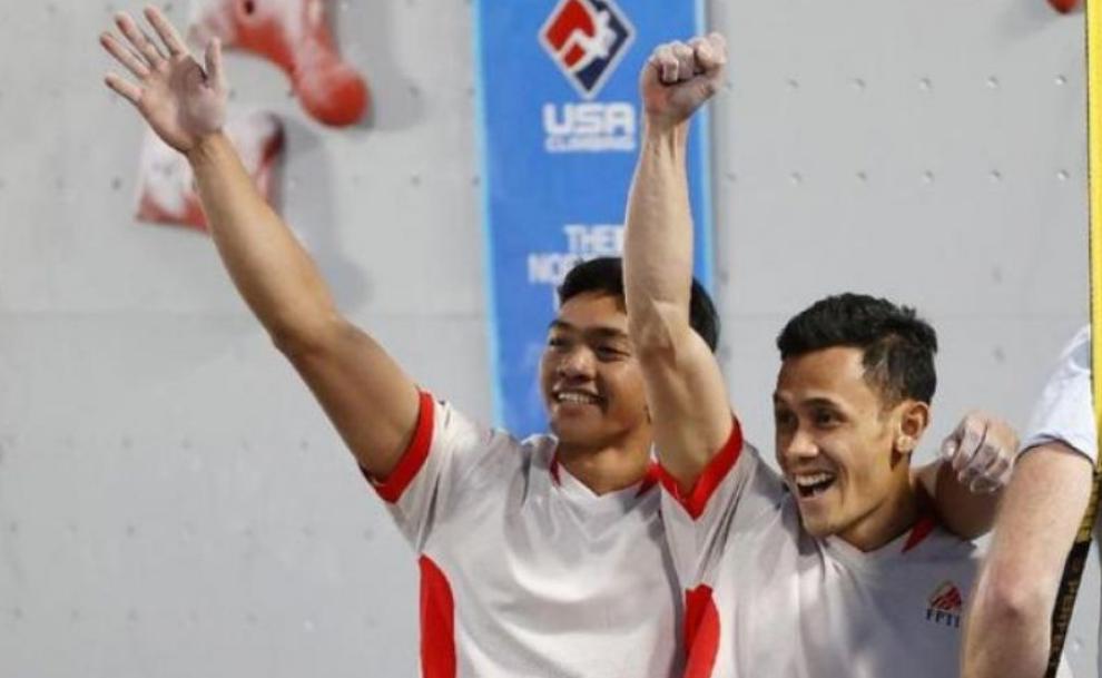 Atlet Indonesia, Veddriq Leonardo Pecahkan Rekor Dunia Panjat Tebing