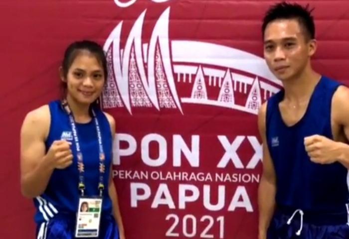 Pasangan Kekasih Ini Persembahkan Dua Emas Untuk Sulut di PON XX Papua
