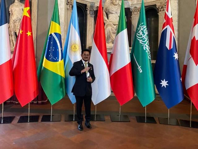 Dalam Pertemuan G20, Indonesia  Dukung Pertanian Afrika  Capai Target SDGs