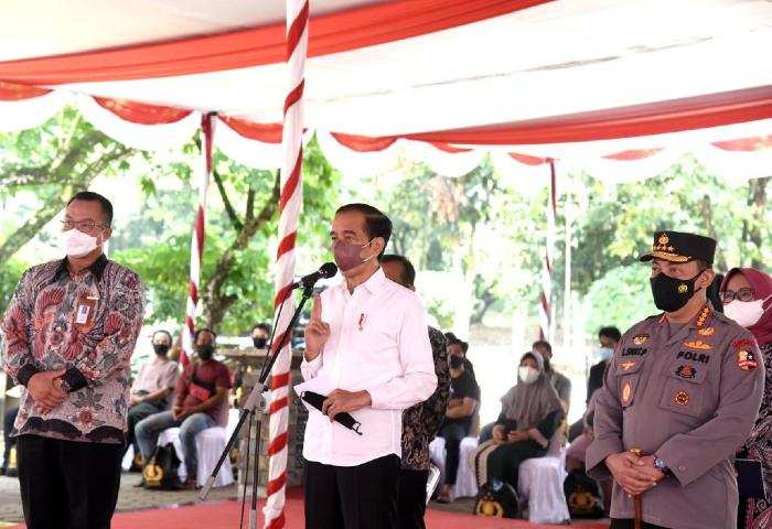 Jokowi Ingatkan Dua Kunci Pengendalian Covid-19
