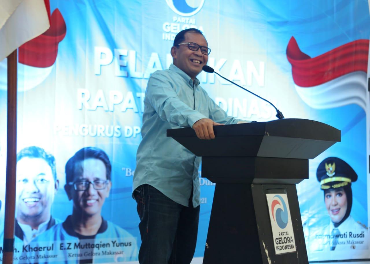 Jadikan Makassar sebagai Kota Dunia, Partai Gelora Serius Kolaborasi dengan Pemkot