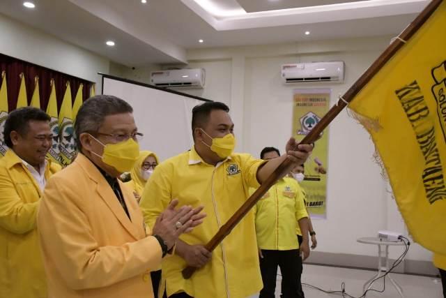 Menantu Gubernur Sulsel Nonaktif, Terpilih Secara Aklamasi  Pimpin Golkar Bantaeng