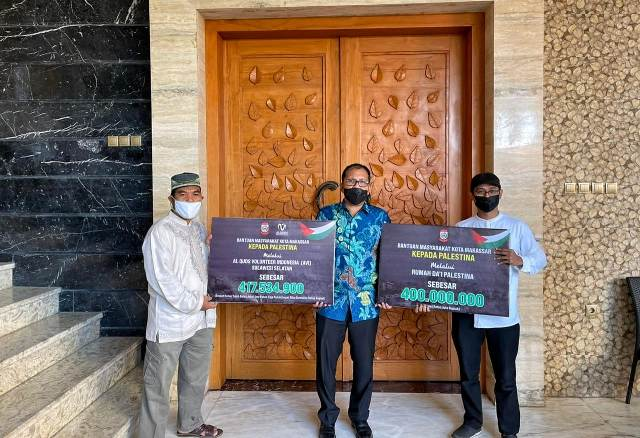 Lakukan Penggalangan Dana untuk Palestina, Wali Kota Makassar Ucapkan Terima Kasih