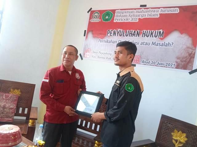 DPC LBH KAI APB Maros Hadiri Penyuluhan Hukum HMJH UIN Alauddin Makassar