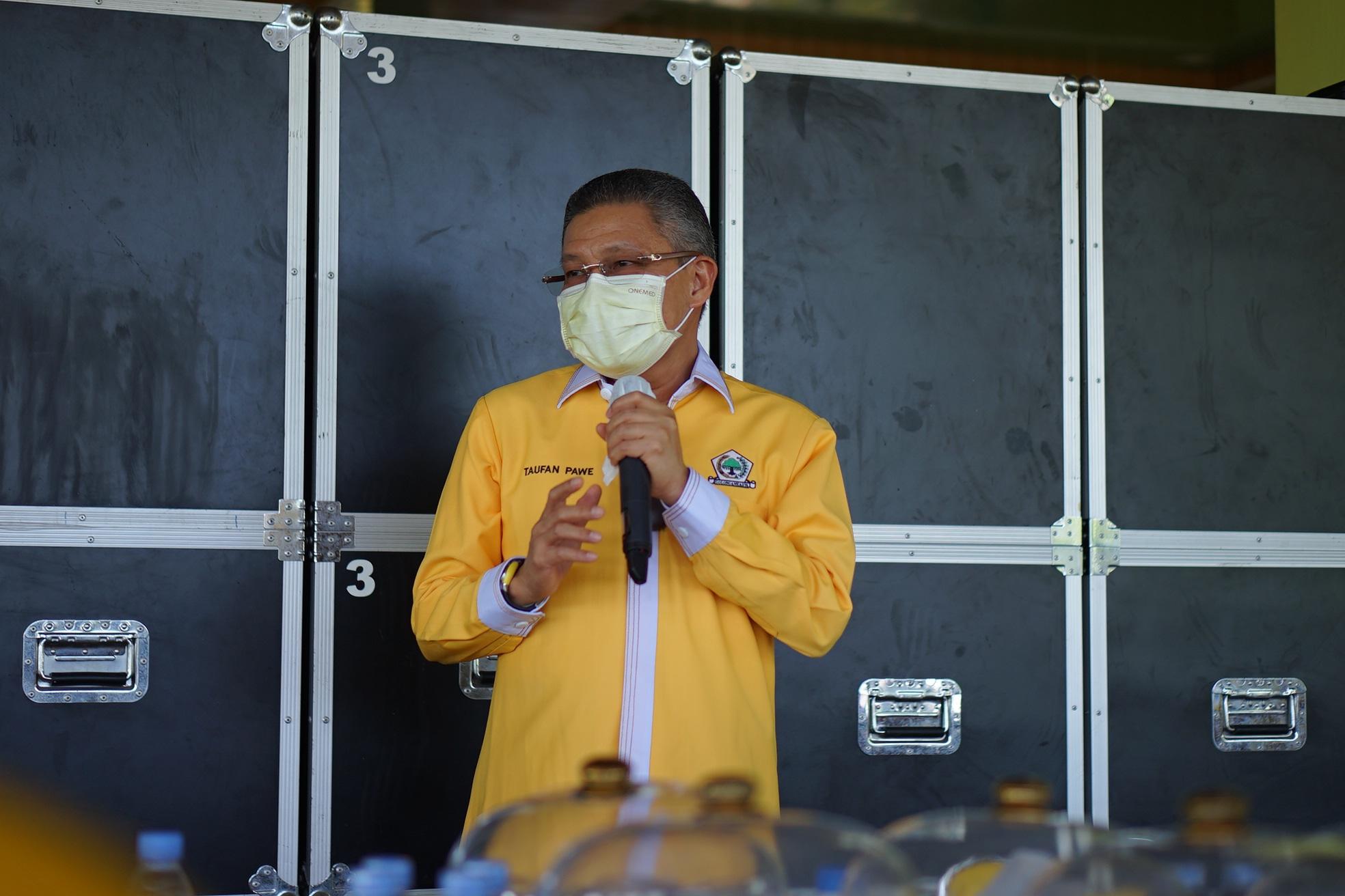 Siap Turun Gunung demi Penuhi Target Kursi Golkar, Taufan Pawe: Jangan Kasi Kendor