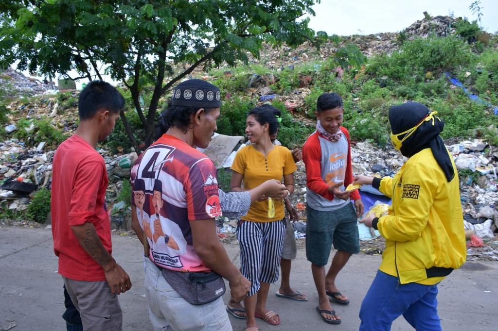 KPPG Sulsel Bagikan Daging Kurban ke Panti Asuhan dan Masyarakat TPA Antang Makassar