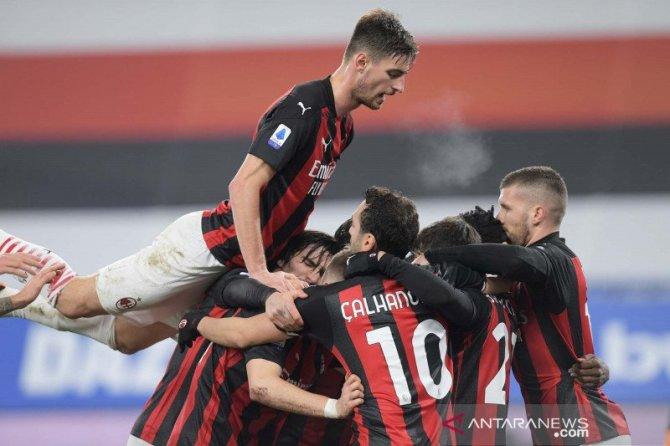 AC Milan dan Inter Milan Huni Puncak Klasemen Liga Italia
