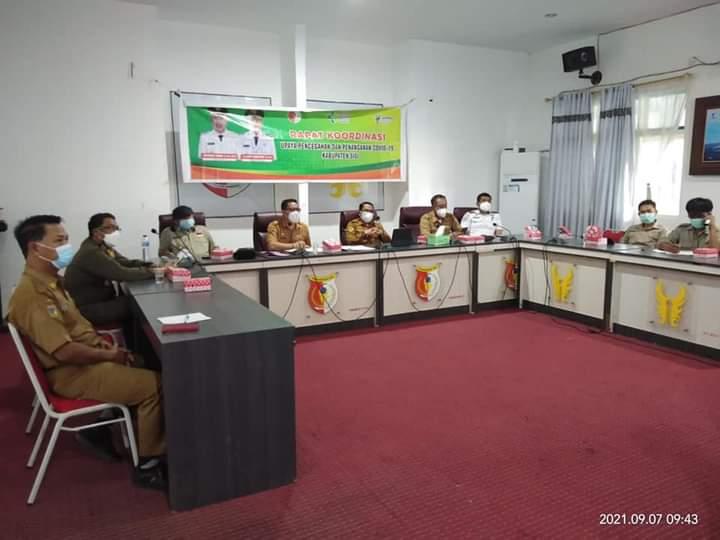 Kabupaten Sigi Masih PPKM Level 3, Wakil Bupati : Kita Harus Kerja Keras Untuk Turunkan Level