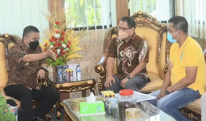 Stafsus  Kemenaker Tinjau Rencana Pembangunan Gedung BLK di Kota Palu
