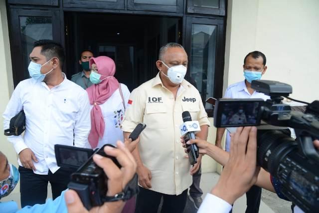 Rusli Habibie Penuhi Panggilan Mediasi PN Limboto