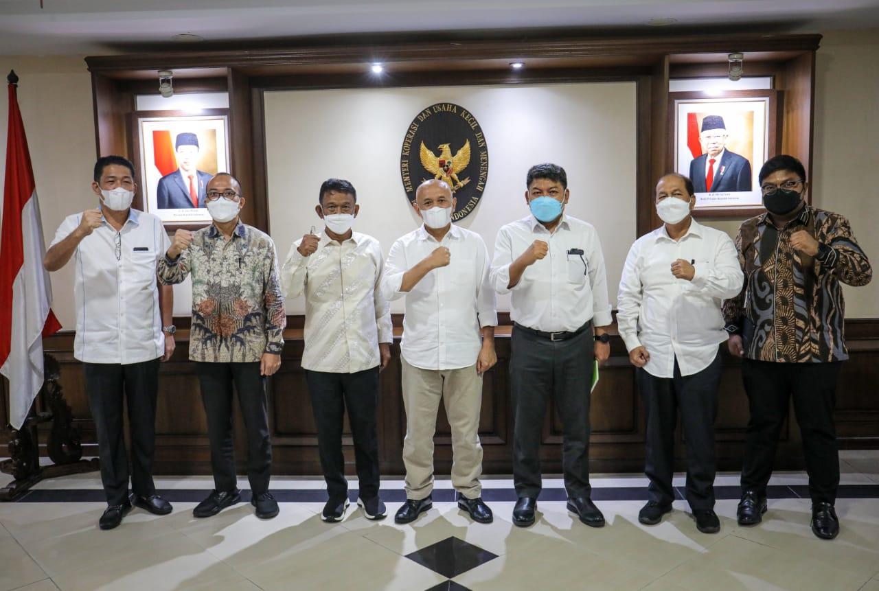 Temui Menteri Koperasi dan UKM, Gubernur Sulteng Minta Penguatan Koperasi
