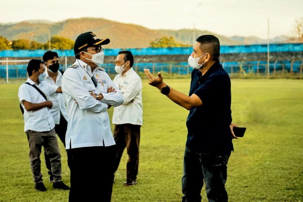 Jadi Homebase PSM Pada Liga 1 2022, Appi Tinjau Kesiapan Stadion Gelora BJ Habibie