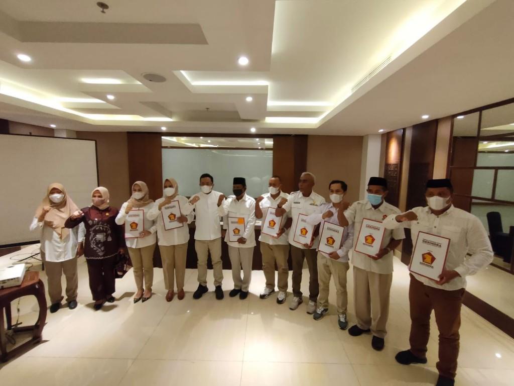 Maksimalkan Kerja Partai, DPD Gerindra Sulsel Rotasi 5 Ketua DPC