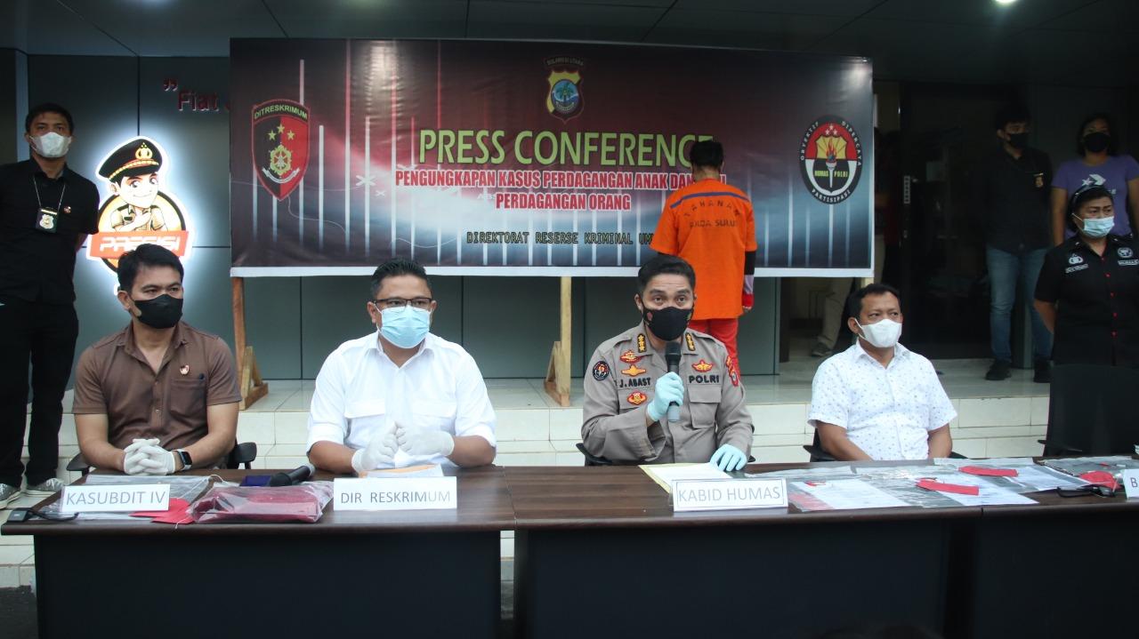 Polda Sulut Amankan Tersangka Perdagangan Bayi di Manado
