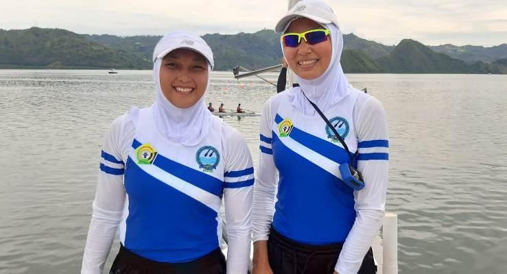Pedayung Putri, Sultra Julianti Sabet Dua Emas di Nomor Rowing