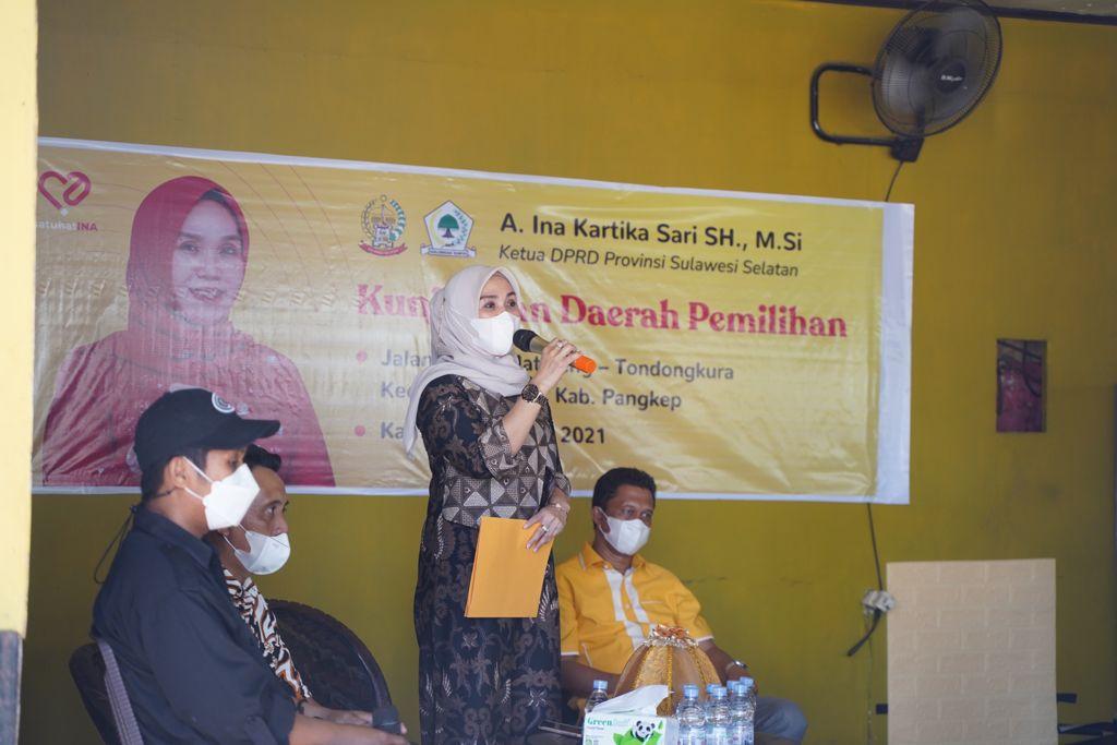 Kunjungi Daerah Pemilihan Ketua DPRD Sulsel Tinjau Progress Pemeliharaan Jalan di Pangkep