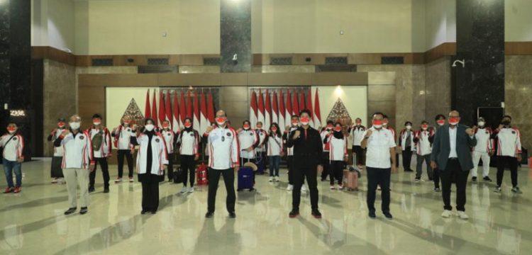 Kontingen Indonesia Telah Bertolak ke Olimpiade Tokyo, Semua Negatif Covid