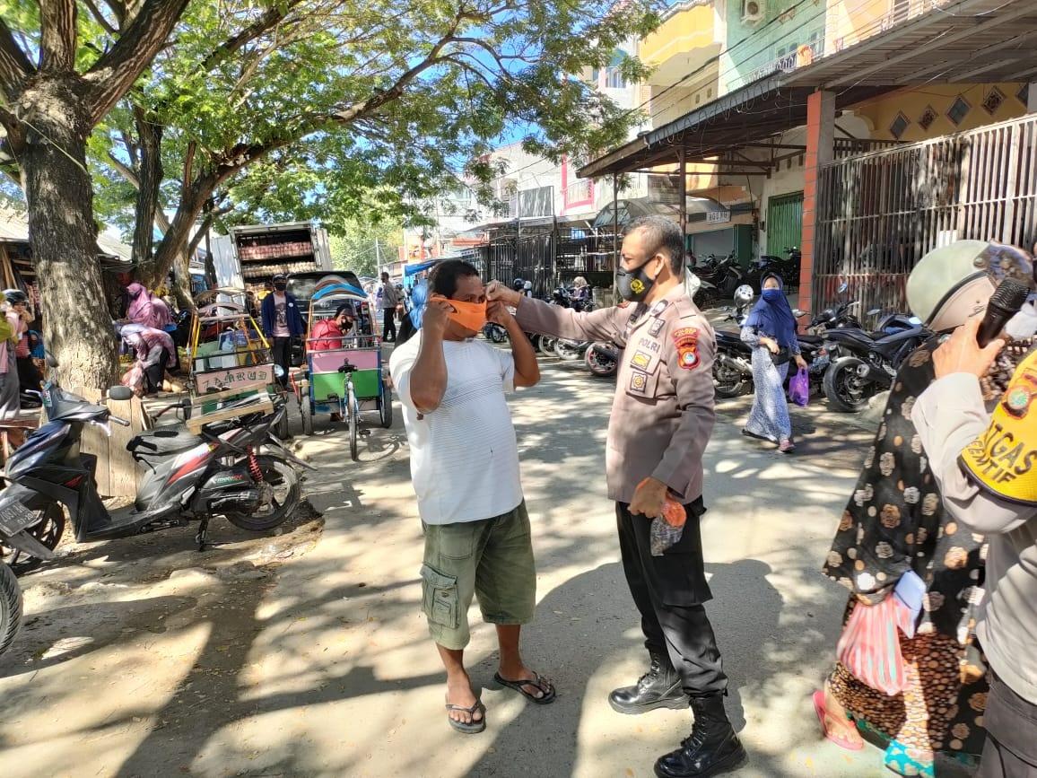 Polres Majene Terus Gelar Sosialisasi Prokes Untuk Pencegahan Covid-19