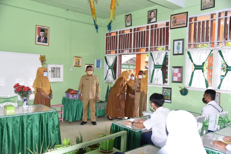 Walikota Gorontalo Tegaskan Diknas Wajib Patuhi Standar Operasional Prosedur PTM Terbatas