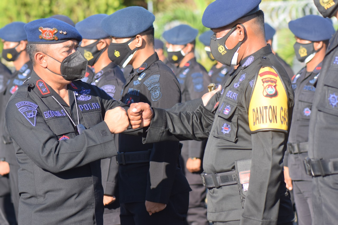 Pengamanan PON XX, 100 Personil Brimob Polda Sulbar di Tugaskan ke Papua